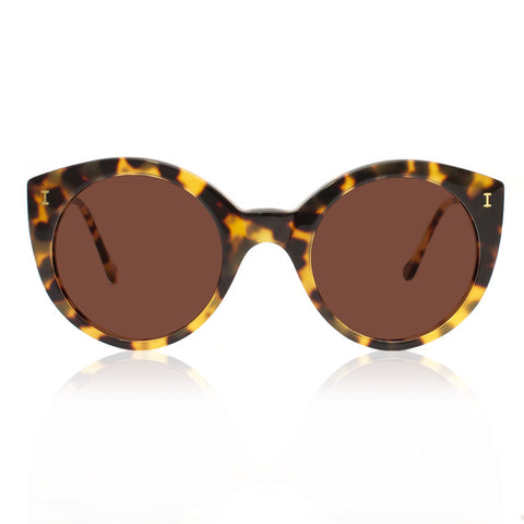 Illesteva Palm Beach sunglasses tortoise