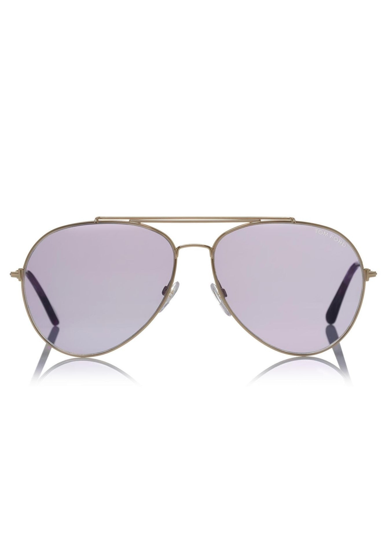 Tom Ford indiana aviator sunglasses purple