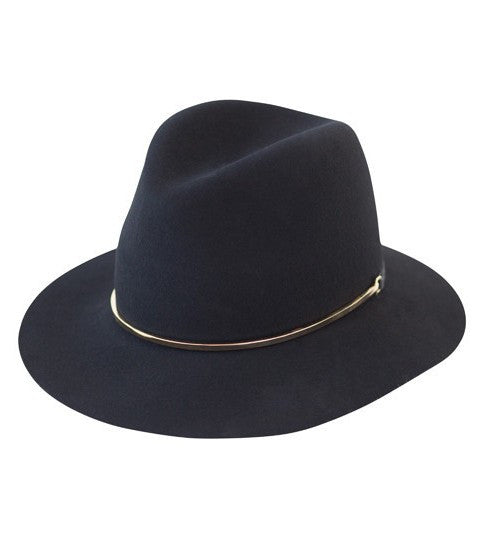 Janessa Leone stephen wool hat black