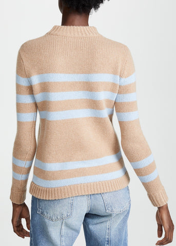 Kule Ellis sweater in camel light blue
