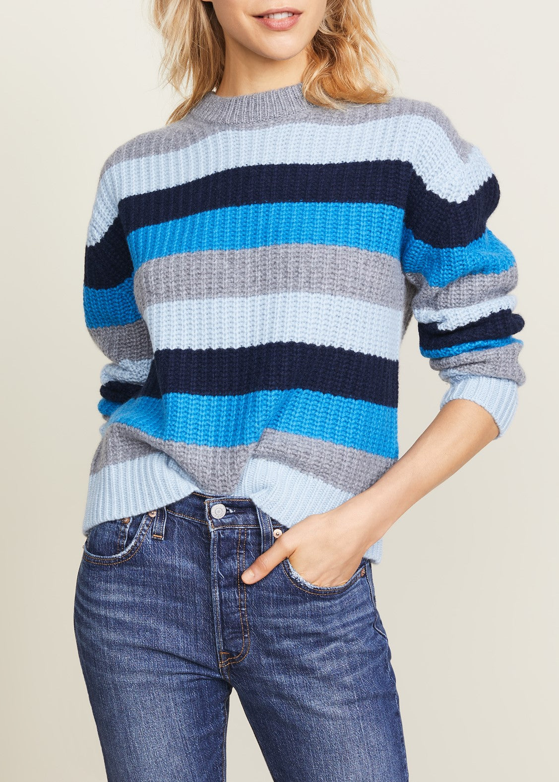 Kule Denton sweater in blue