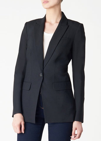 Veronica Beard black long and lean jacket