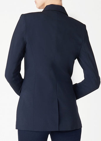 Veronica Beard navy long and lean jacket
