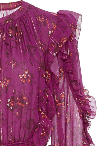 Ulla Johnson Ellette dress in magenta