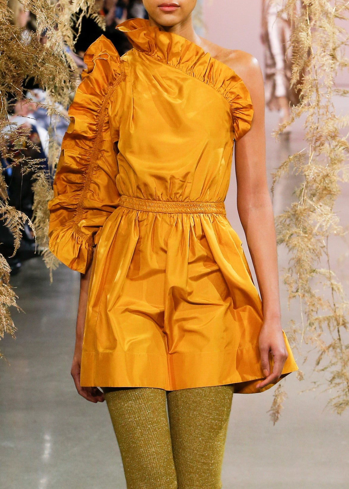 Ulla Johnson Falaise dress in mustard