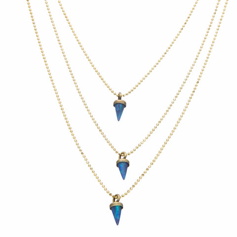 Lionette avish necklace blue