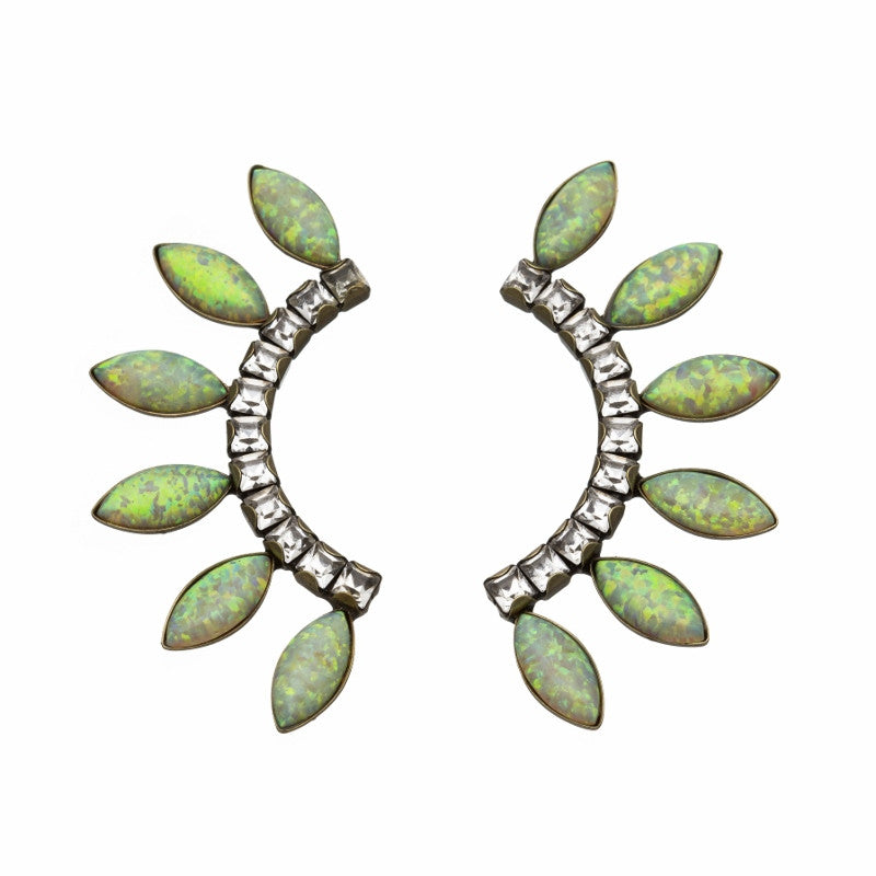 Lionette byron bay earrings yellow