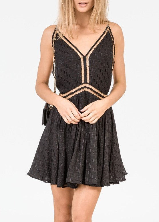 Magali Pascal raja dress black
