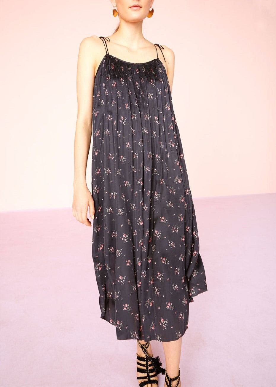 Ulla Johnson mille floral print dress black