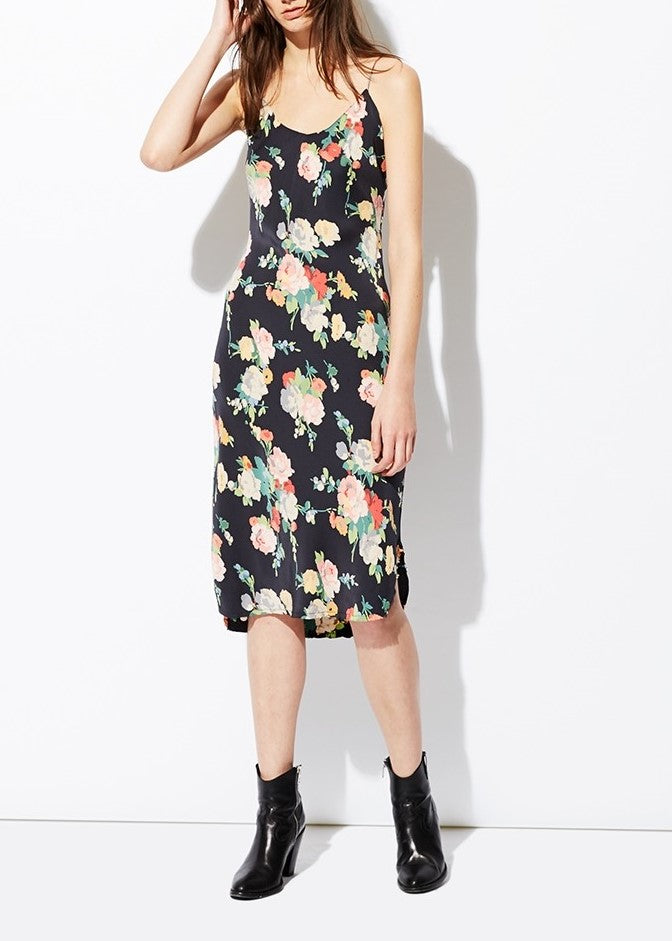 Nili Lotan Short cami dress in floral print