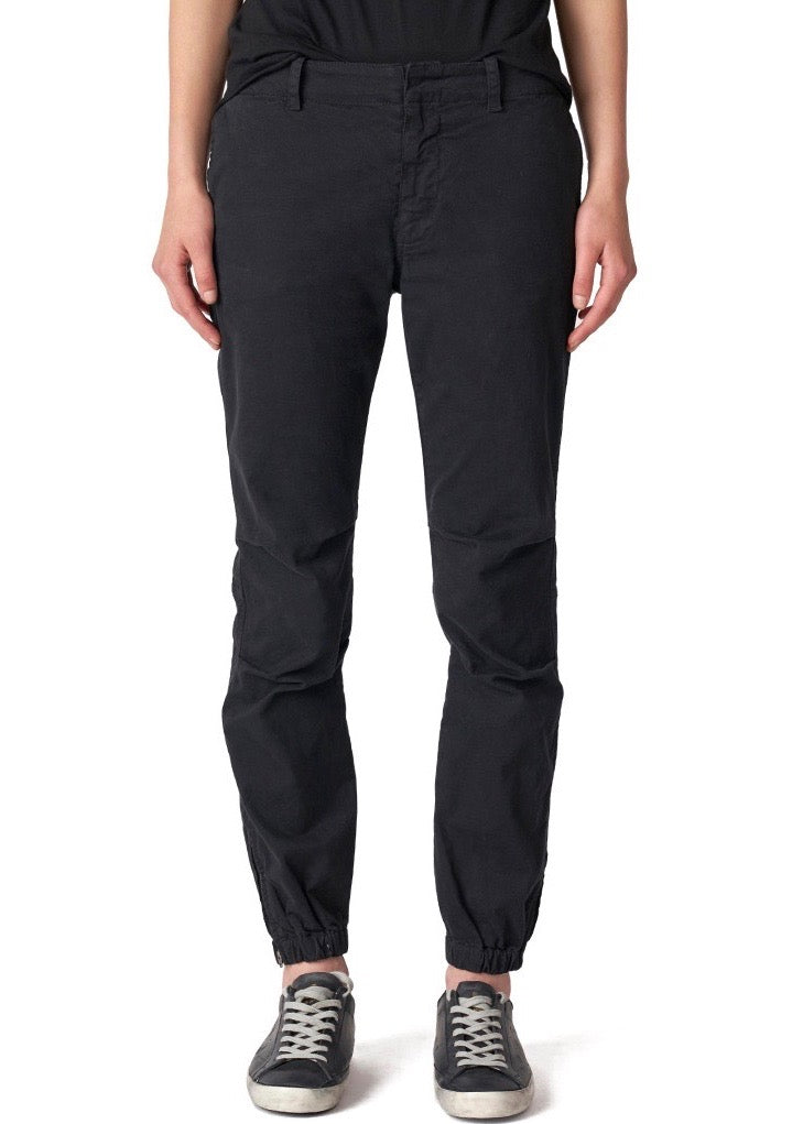 Nili Lotan FRENCH MILITARY PANT jet black