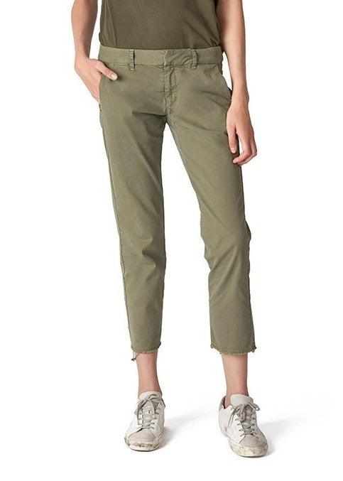 Nili Lotan East Hampton pant in camo green