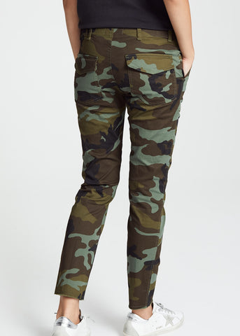 Nili Lotan Jenna pant in fall green