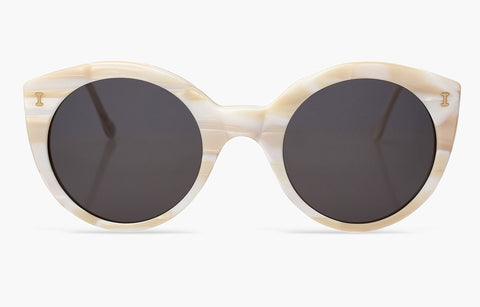 Illesteva palm beach white tortoise sunglasses