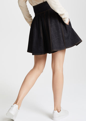 Philosophy di Lorenzo Serafini denim skirt