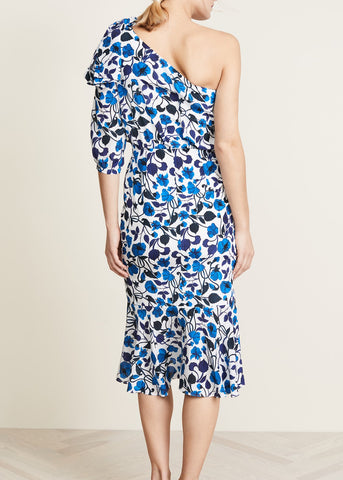 Saloni Juliet dress in forget-me-not