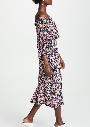 Saloni Grace dress in hothouse mirage