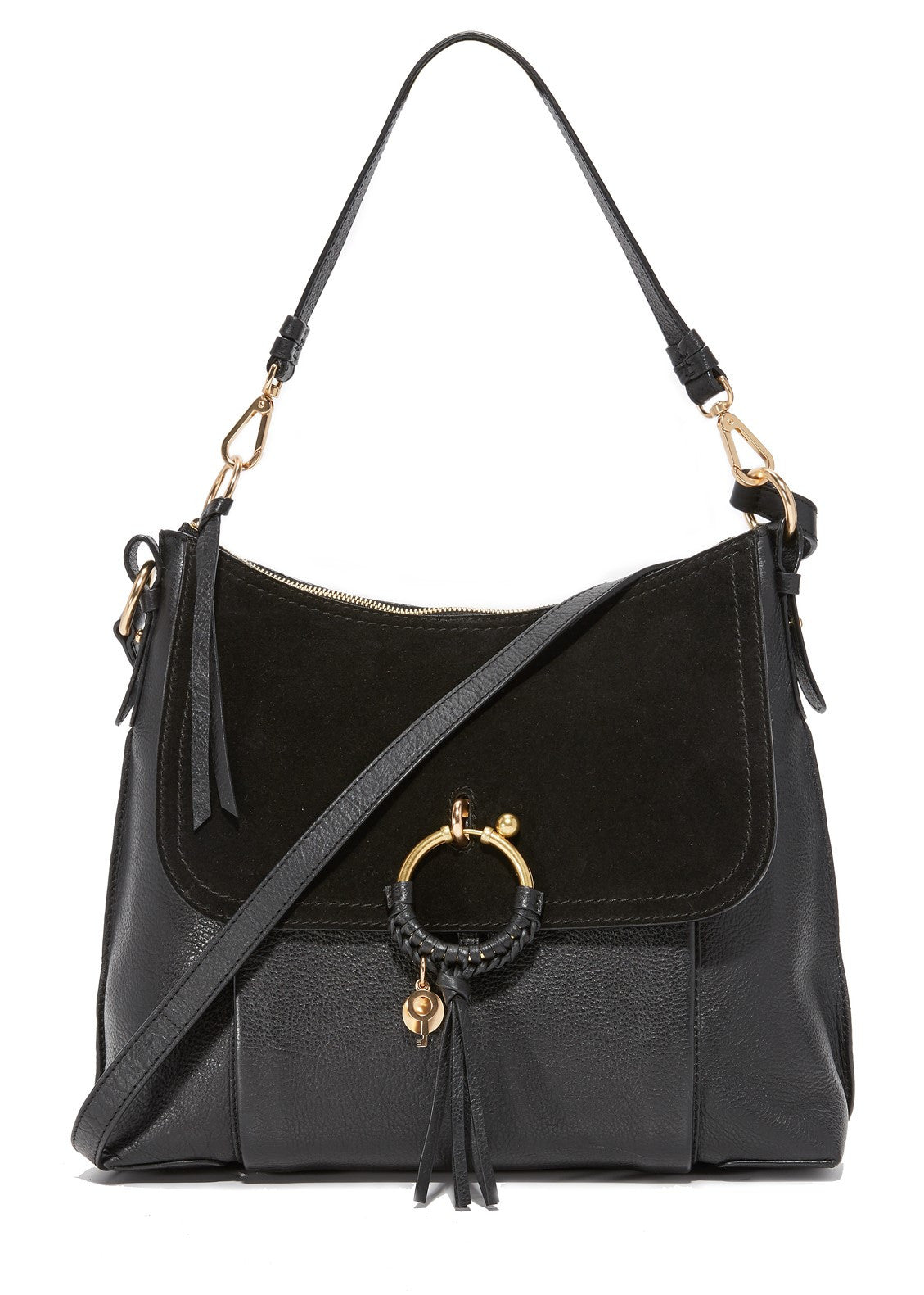 See by Chloe Joan Hobo Bag Black