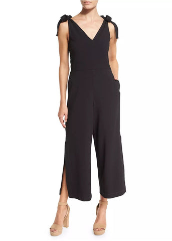 See by Chloe jumpsuit with shoulder tie black
