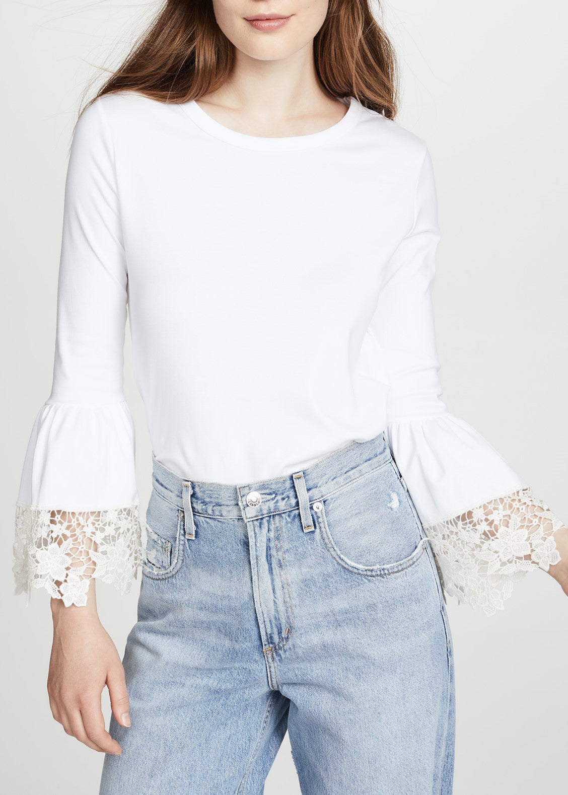See by Chloe white powder top