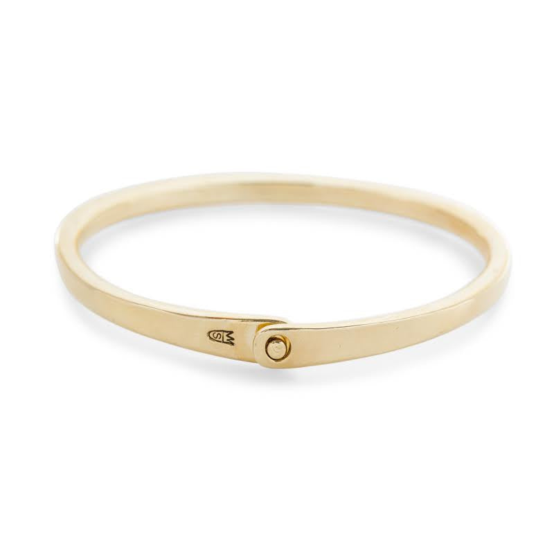 Scosha brass smooth cuff