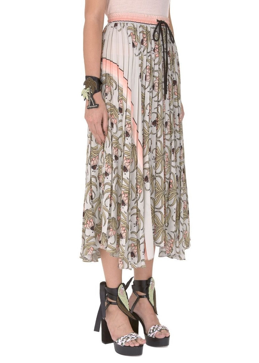 Markus Lupfer desert flower coby skirt in mint
