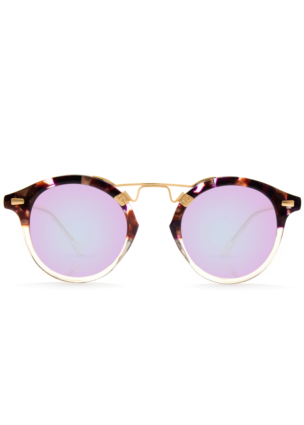 Krewe st. louis sunglasses stardust champagne