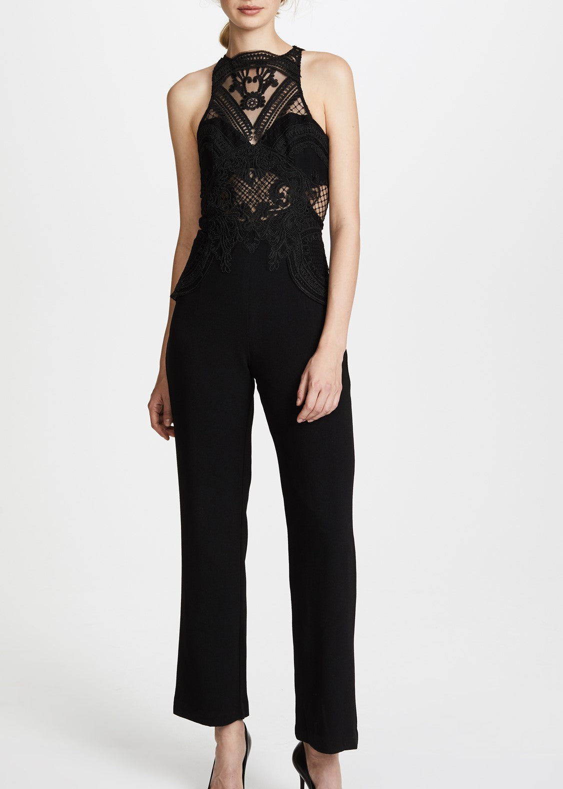 Thurley Chameleon jumpsuit black