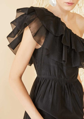 Ulla Johnson Clemente dress in noir