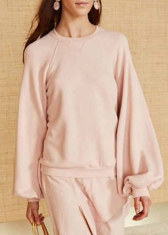 Ulla Johnson ebba pullover rose