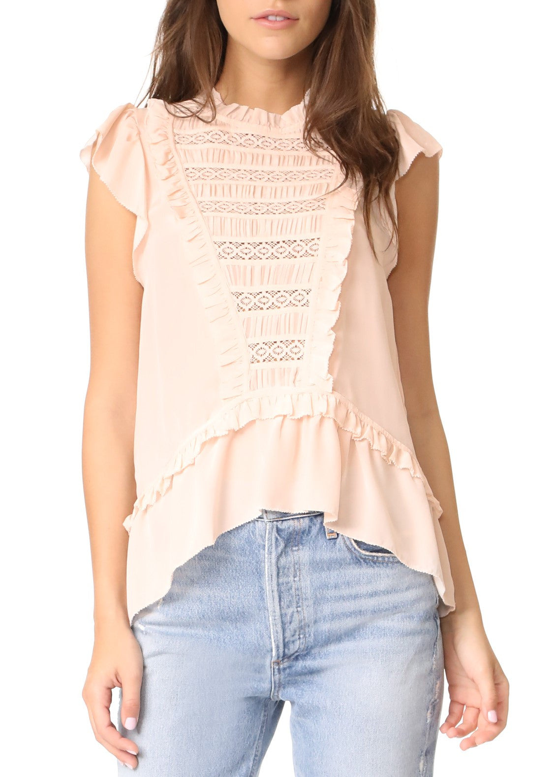Ulla Johnson lois top blush
