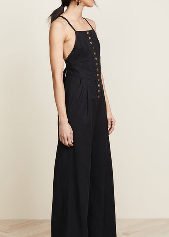 Ulla Johnson effie jumpsuit black