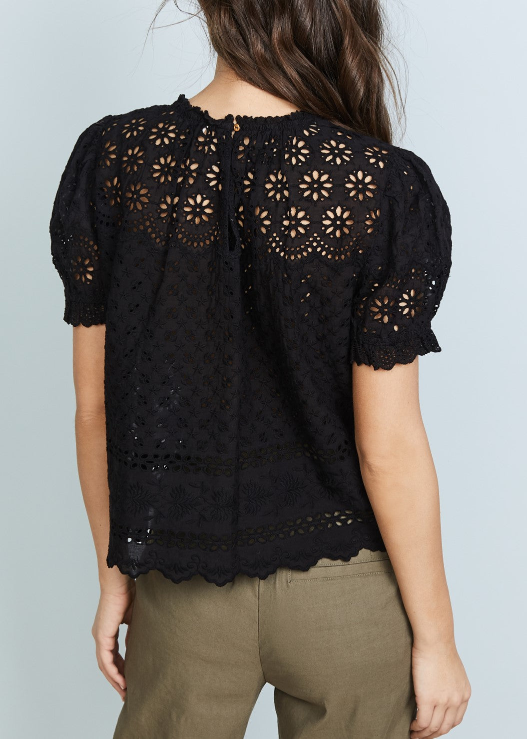 Ulla Johnson Desi top in noir