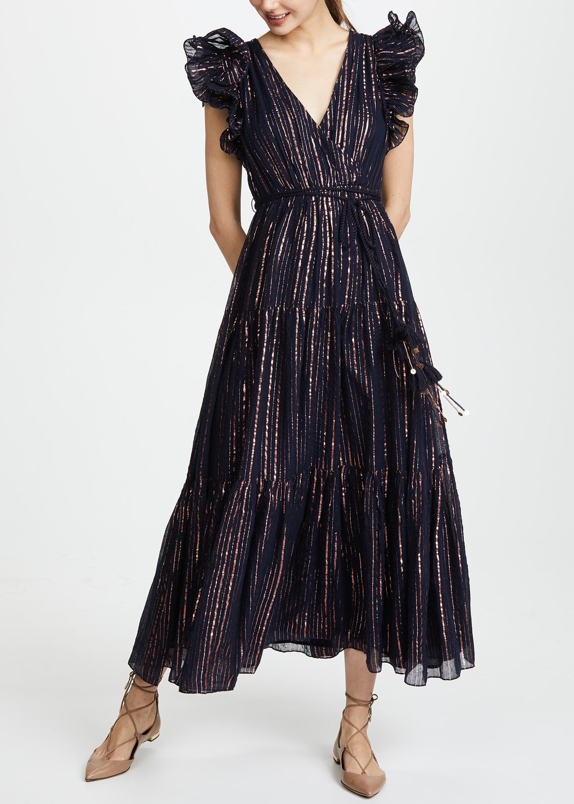 Ulla Johnson Liliana dress in midnight