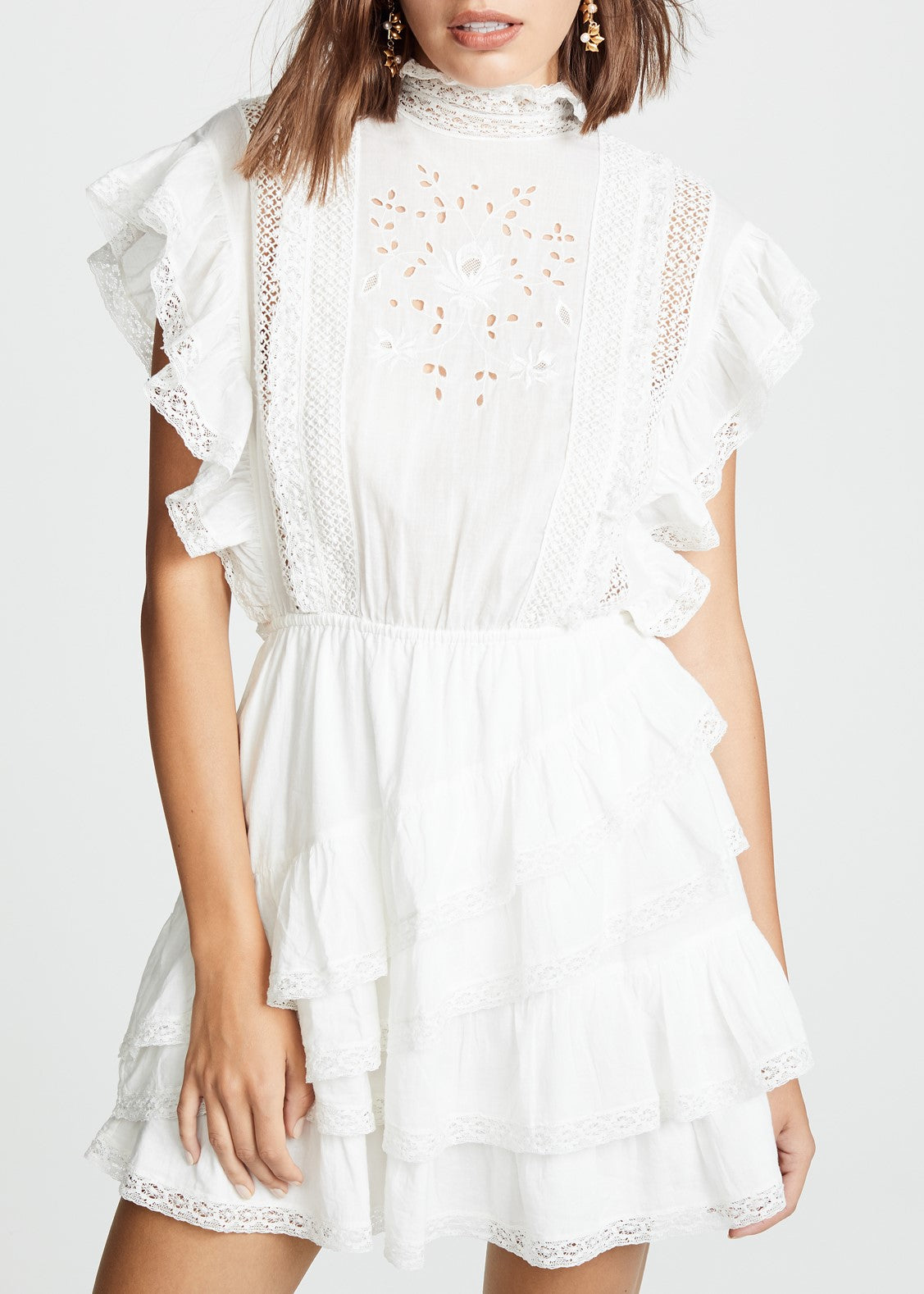Ulla Johnson Holly dress in white