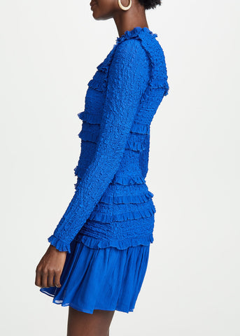 Ulla Johnson Gia dress in Cobalt