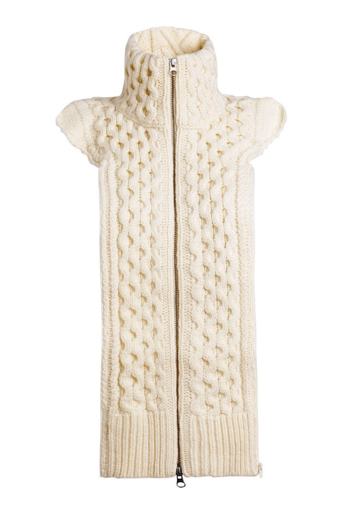 Veronica Beard knit upstate dickey ivory