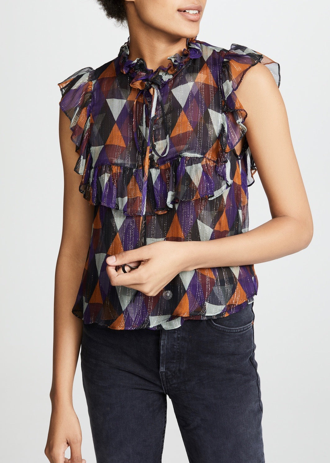 Warm Nicks blouse in multi