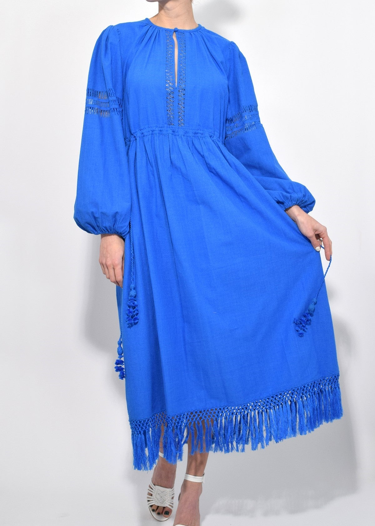Ulla Johnson kalea dress azul
