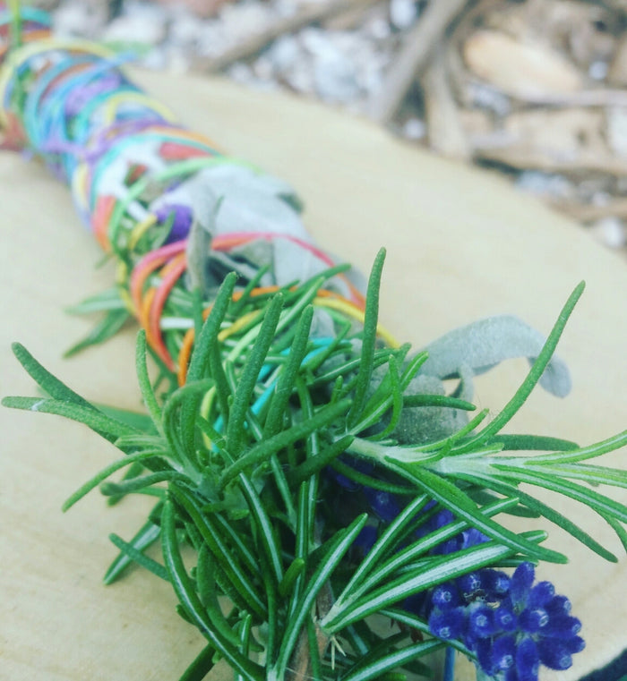 Herbal Smudge Wands - Drifting by the Sea Organic Skincare