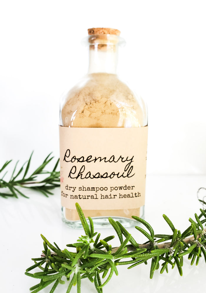 Rosemary Rhassoul Dry Shampoo Powder