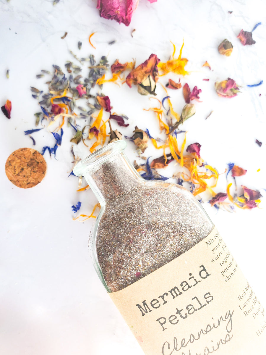 Mermaid Petals Face Cleansing Grains
