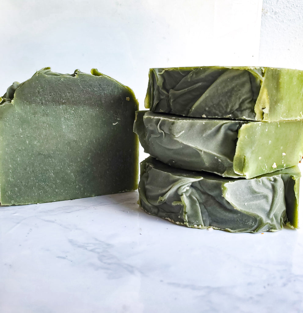 Seaside Evergreen Handmade Soap