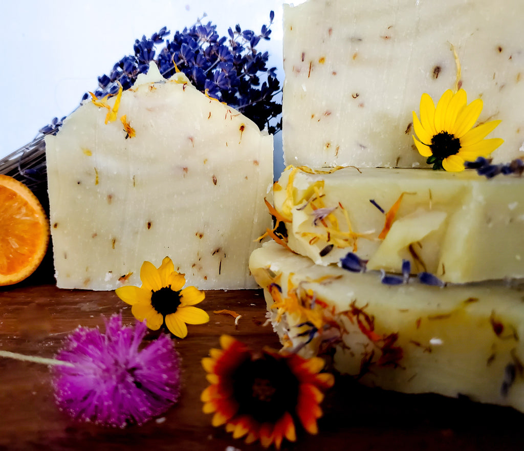 Citrus Wildflower Handmade Soap