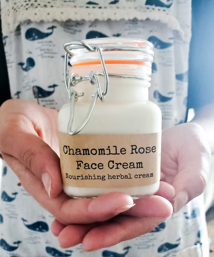 Chamomile Rose Face Cream
