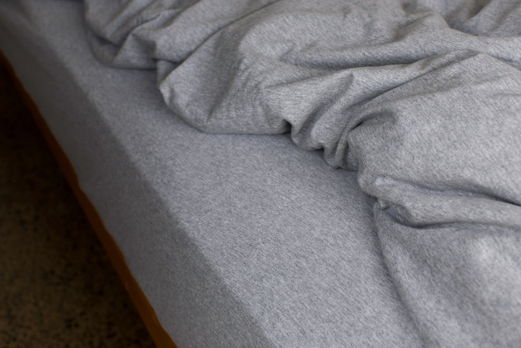 Pebble Fitted Sheet