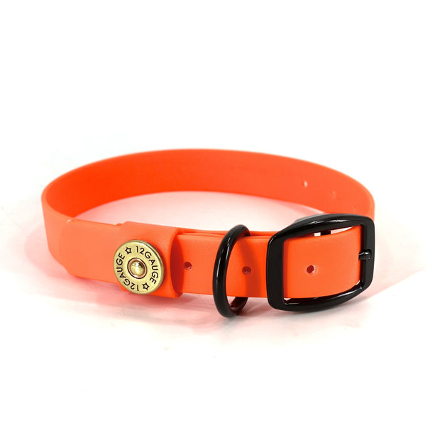 Chief Dog Collar -  Safety Orange