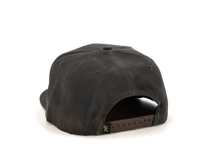 Waxed Cotton Greenhead Hat - Gunpowder