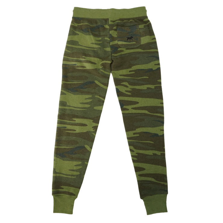 Women's Active Fleece Jogger - Woodland Camo