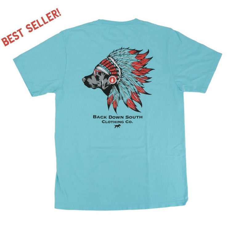 Chief 2.0  Tee Blue Wing SS